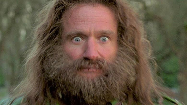 Jumanji Robin Williams bushy beard