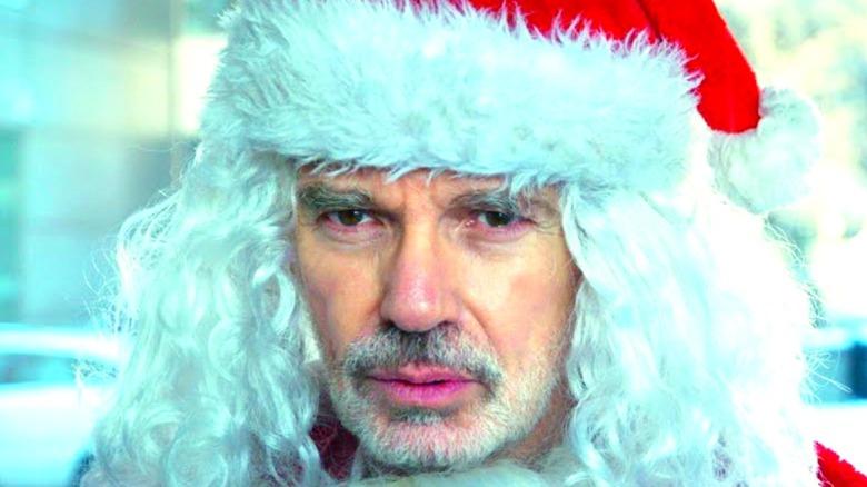 Bad Santa looking confused