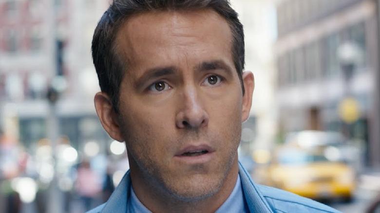 Ryan Reynolds worried face