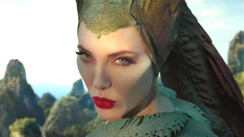 Maleficent staring someone down