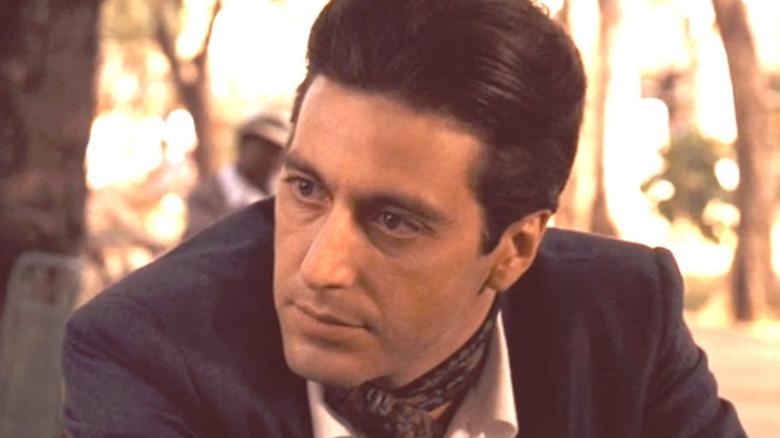 Michael Corleone talking