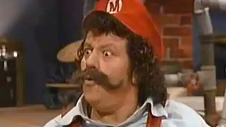 Mario surprised