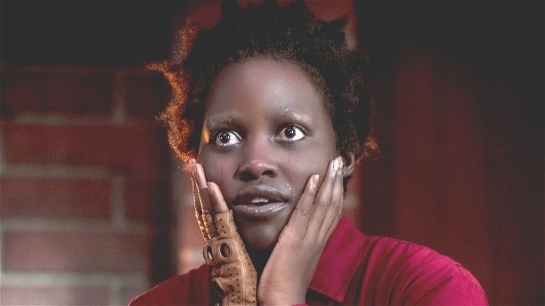 Lupita Nyong'o crying in Us