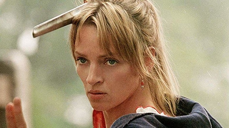 Uma Thurman as Beatrix Kiddo