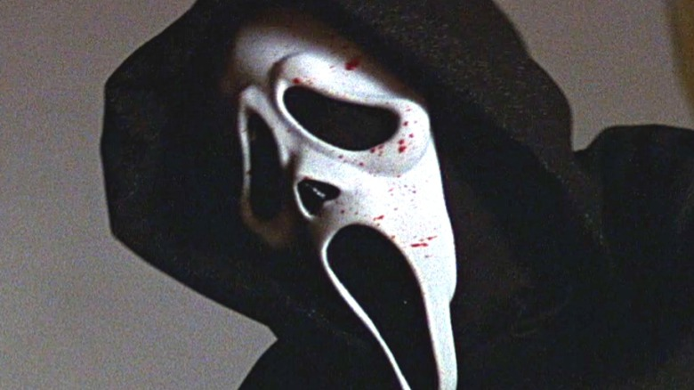 Ghostface with bloody mask