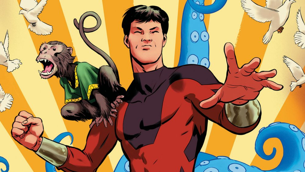 Shang-Chi on the cover of 'Kung Fu' #126