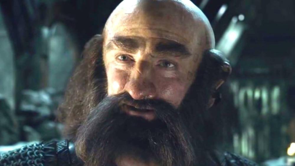 The Hobbit Dwalin dwarf beard