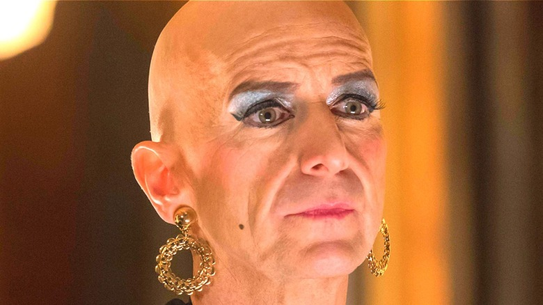 Denis O'Hare as Liz Taylor on American Horror Story: Hotel