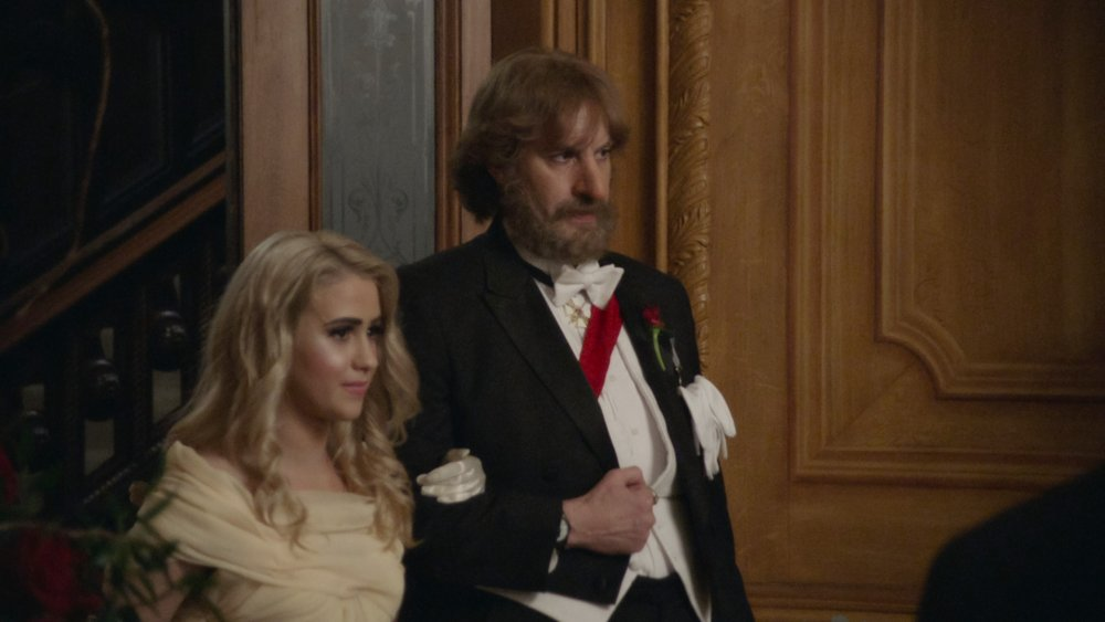 Borat gives away his daughter, Tutar, in Borat Subsequent Moviefilm