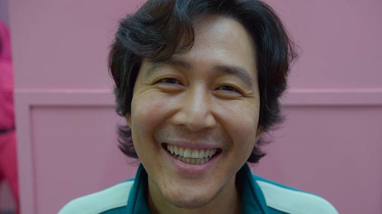 Seong Gi-hun smiling