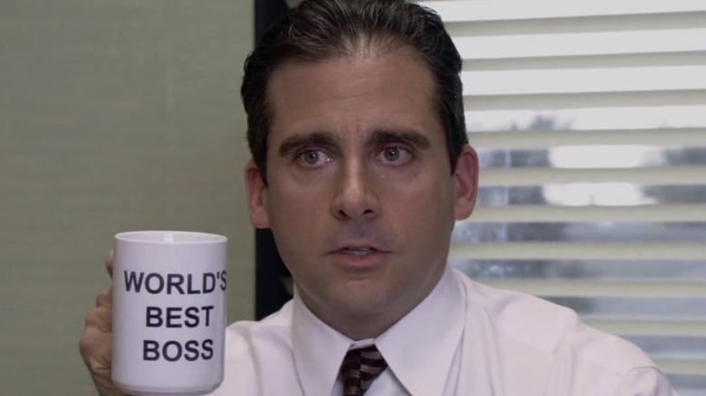 Office World's Best Boss mug
