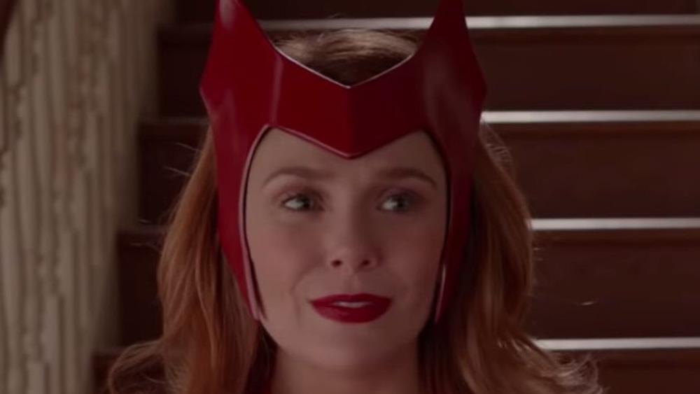 Wanda in Halloween costume
