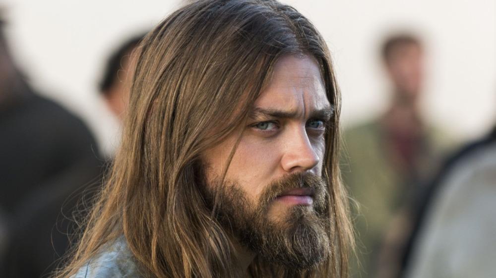 Jesus pondering his own demise