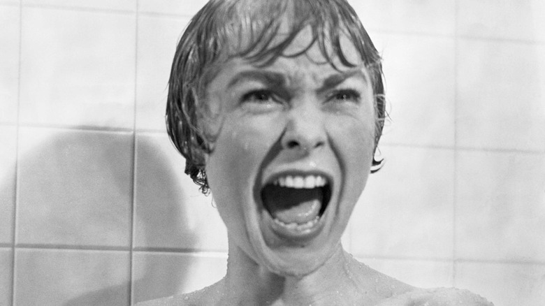 Janet Leigh screaming in Psycho