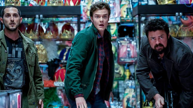 The Boys season 2, episode 2 inside party store