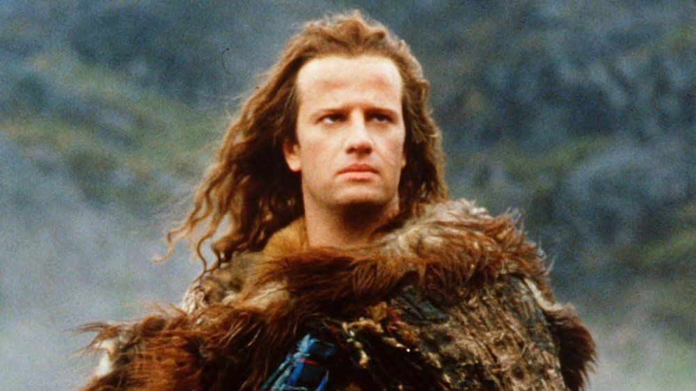 Christopher Lambert as Connor MacLeod, from Highlander