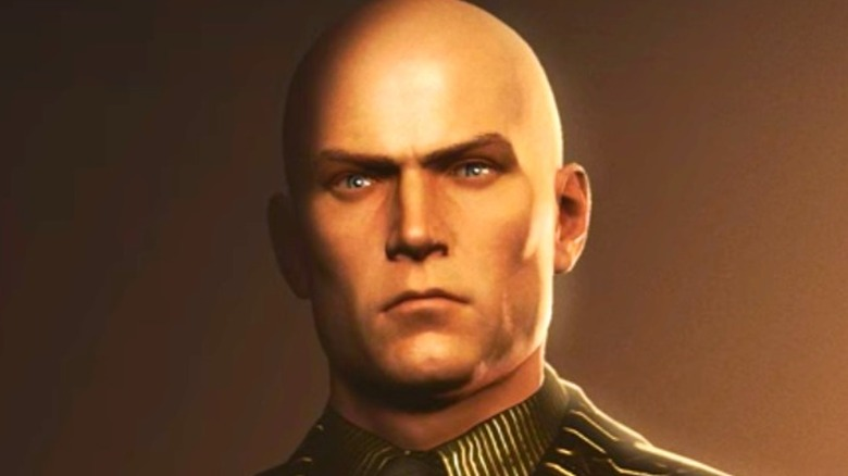 Agent 47 in Greed suit