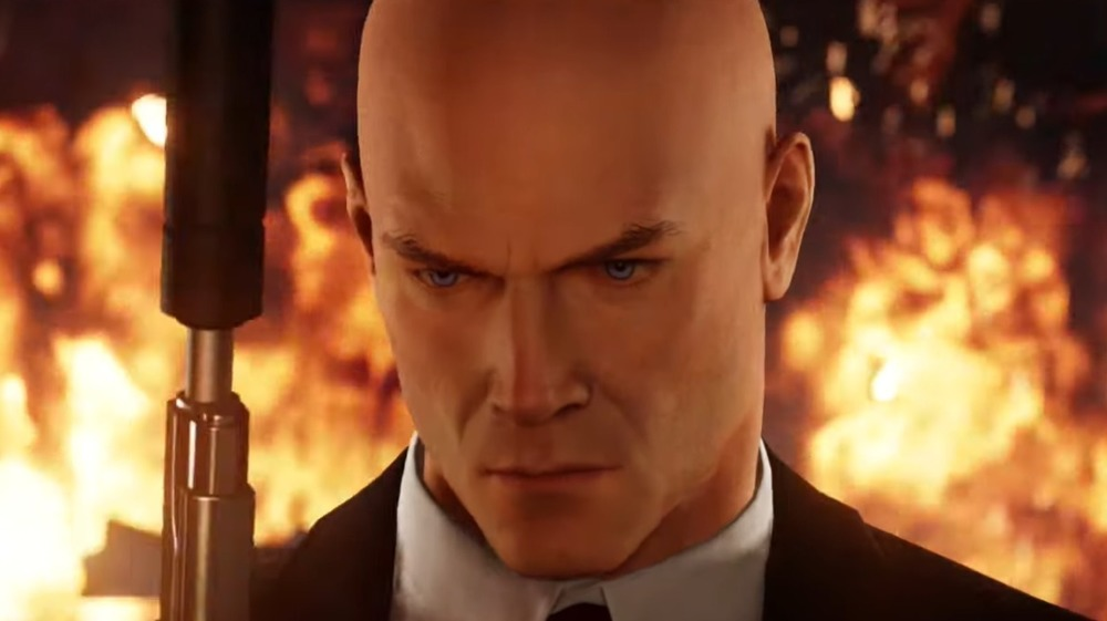 Agent 47 Fire Slow Mo