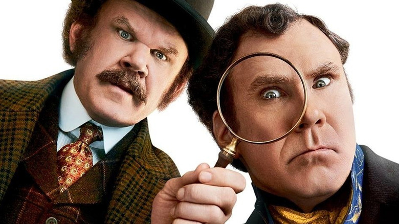 Holmes and Watson John C. Reilly and Will Ferrell
