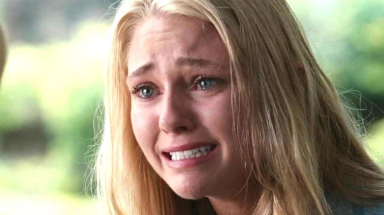 "AnnaSophia Robb cries as Bethany Hamilton in ""Soul Surfer"""