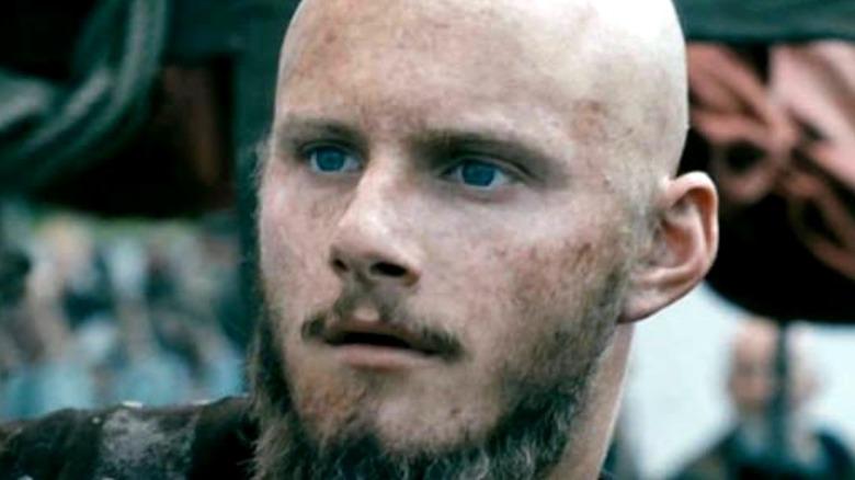 Bjorn Ironside blue eyes