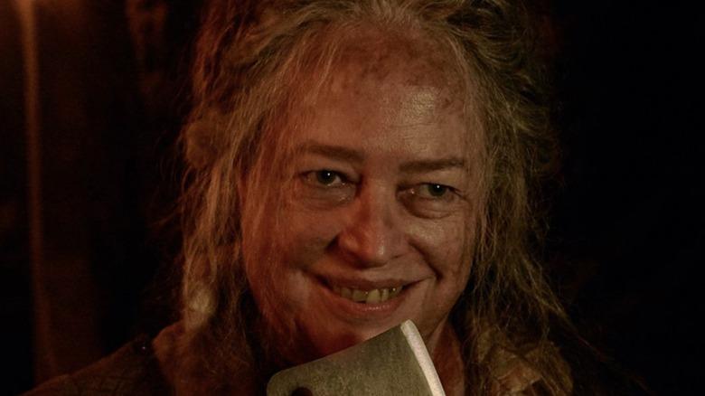 Kathy Bates as The Butcher