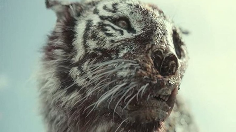 The zombie tiger in 'Army of the Dead'