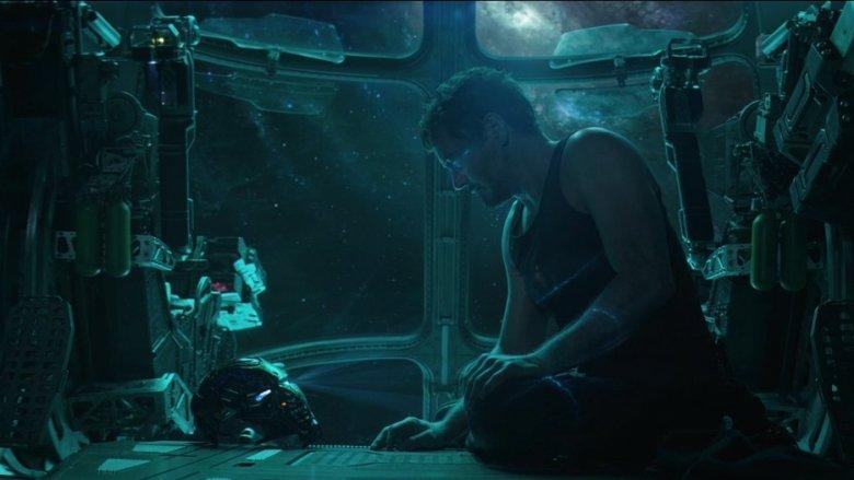 Tony Stark in space