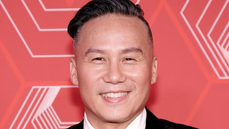 BD Wong smiling