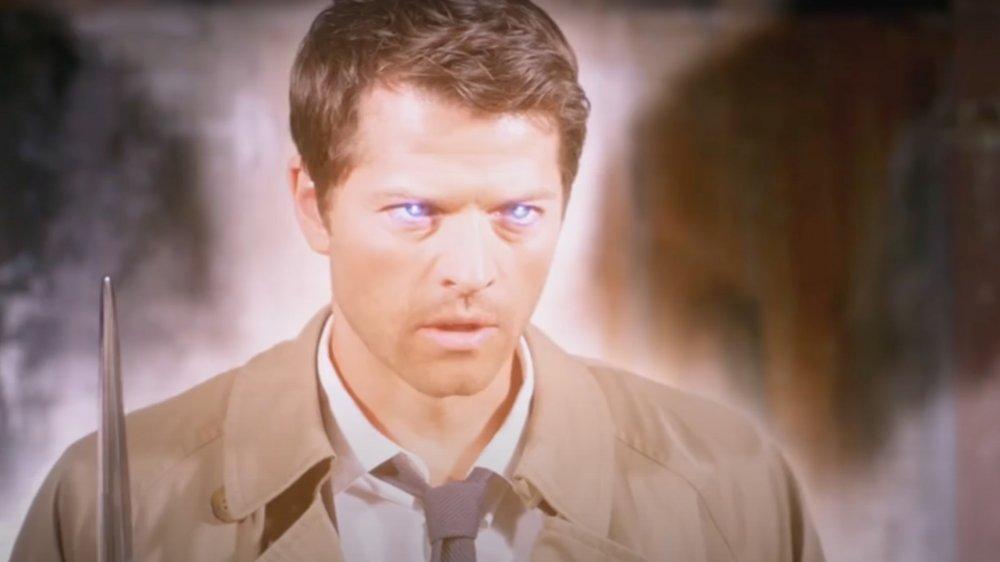 Misha Collins as Castiel on Supernatural