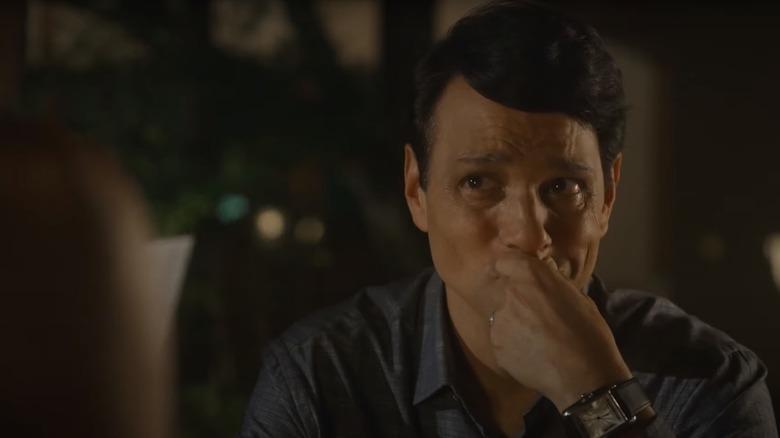 Daniel LaRusso crying