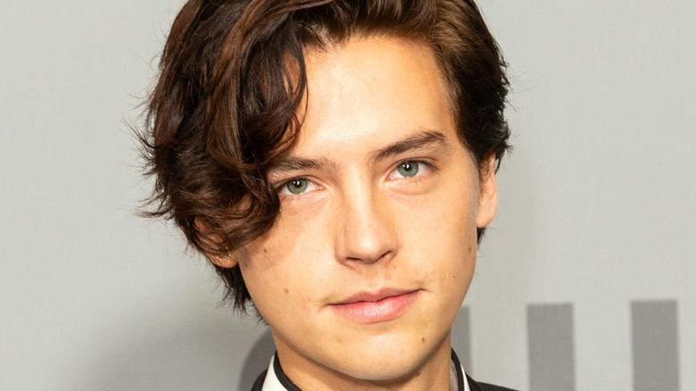 Cole Sprouse smiling