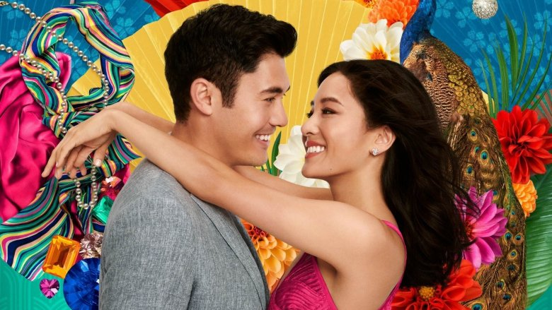 Henry Golding, Constance Wu in Crazy Rich Asians