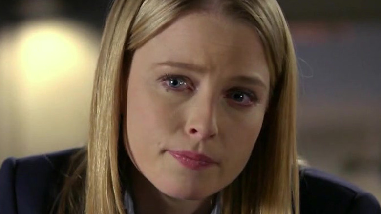 Criminal Minds Ashley Seaver sad face