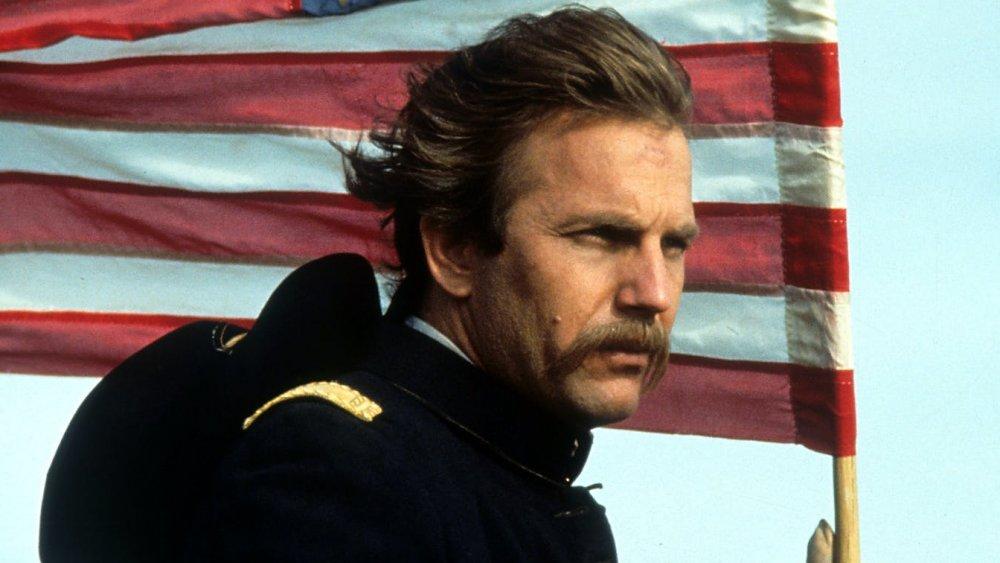 Kevin Costner as Lt. John J. Dunbar in Dances with Wolves