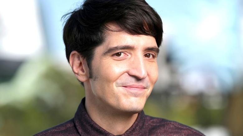 David Dastmalchian smiling