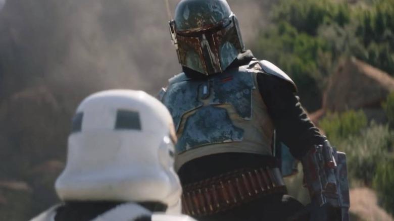 Boba Fett gets his armor back on The Mandalorian