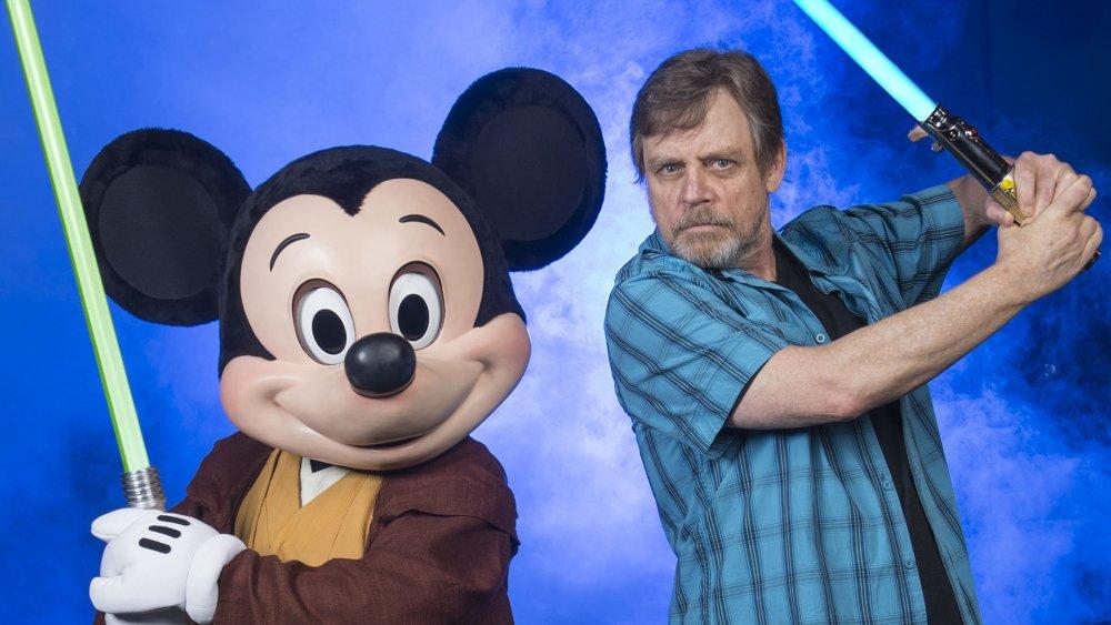Mickey Mouse Mark Hamill Star Wars