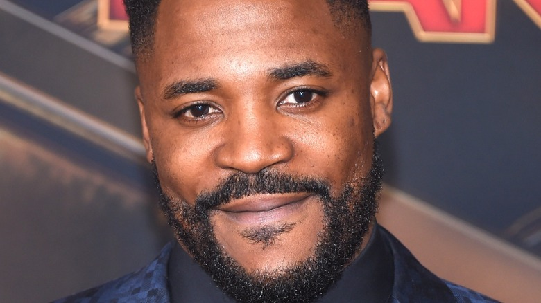 Close up of Duane Henry smiling