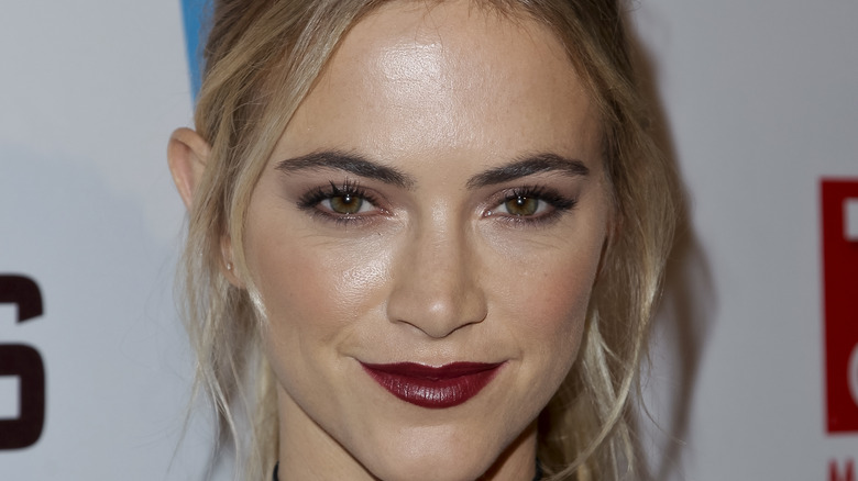 Emily Wickersham at an event celebrating NCIS