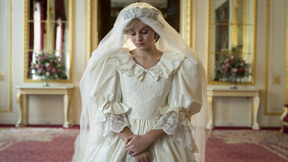 Emma Corrin plays Princess Diana on Netflix's The Crown