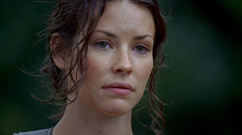 Evangeline Lilly as Kate on Lost