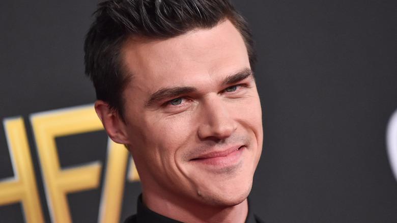 Finn Wittrock smiling