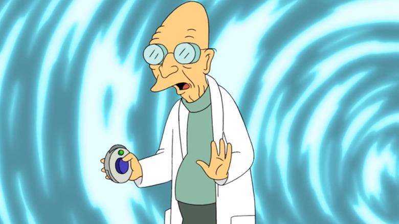 Professor Farnsworth in the Futurama finale
