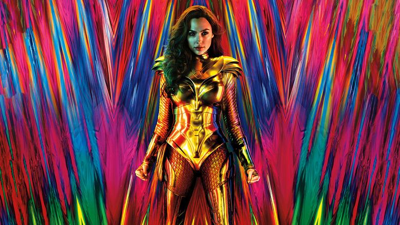 Gal Gadot in Wonder Woman 1984 Poster