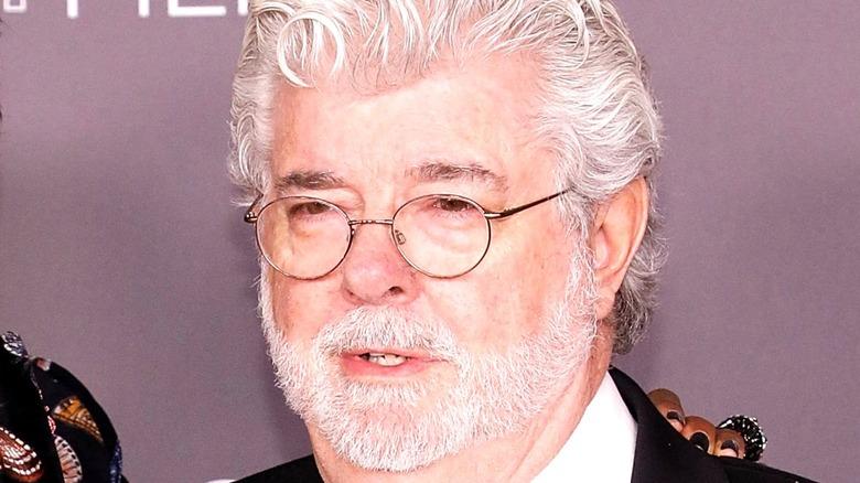Close-up of George Lucas