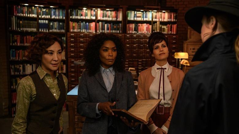 Gunpowder Milkshake librarians