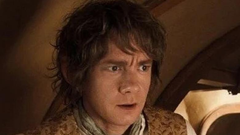 Bilbo in his room