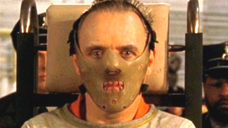 """Anthony Hopkins as Hannibal Lecter in """"Silence of the Lambs"""""""