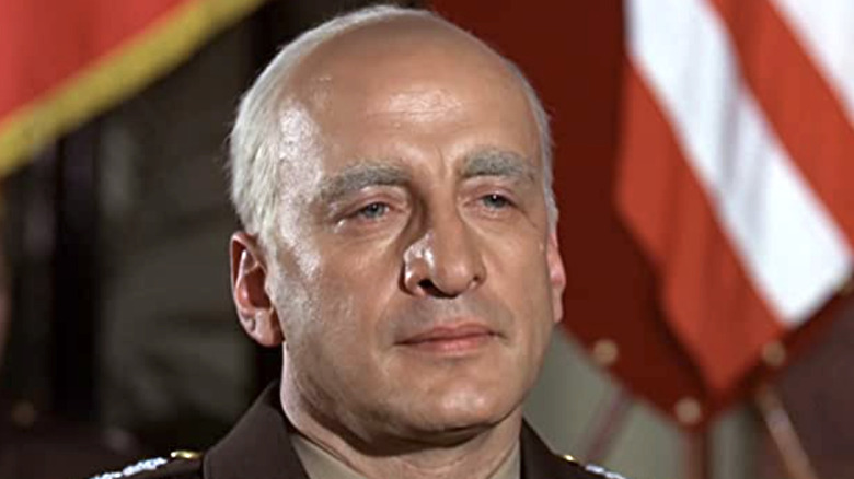Patton in closeup